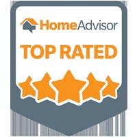 HomeAdvisor top rated logo