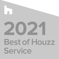 2021 best of Houzz service logo